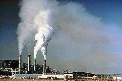 La contminación atmosférica